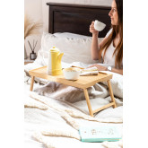 Yones Bamboo Bed Tray, miniatuur afbeelding 1