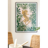 Decoratief Laminaat (50x70 cm) Tijger, miniatuur afbeelding 1