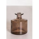 Vaas van gerecycled glas 12 cm Pussa, miniatuur afbeelding 1