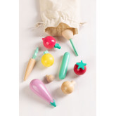 Groenten op Wood Orts Kids , miniatuur afbeelding 1