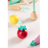 Groenten op Wood Orts Kids , miniatuur afbeelding 3