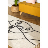 Katoenen vloerkleed (198x124 cm) Fäsy, miniatuur afbeelding 1