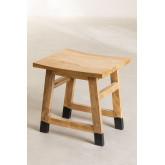 Lage Pid houten kruk, miniatuur afbeelding 2