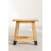 Lage Pid houten kruk, miniatuur afbeelding 4