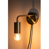 Londi metalen wandlamp, miniatuur afbeelding 3