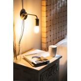 Londi metalen wandlamp, miniatuur afbeelding 2