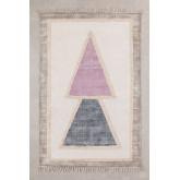 Katoenen vloerkleed (185x120 cm) Pinem, miniatuur afbeelding 1