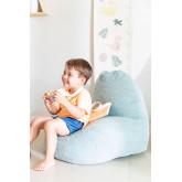 Puff Met Rugleuning Quim Kids, miniatuur afbeelding 1