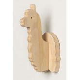Pypa houten wandkapstok voor kinderen, miniatuur afbeelding 3