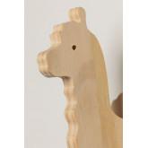 Pypa houten wandkapstok voor kinderen, miniatuur afbeelding 4