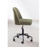 Jarys Corduroy bureaustoel, miniatuur afbeelding 5
