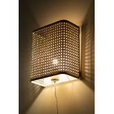 Naoke rotan wandlamp, miniatuur afbeelding 4