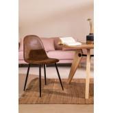 Leren stoel Glamm, miniatuur afbeelding 6