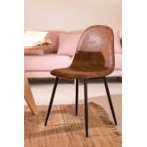 Leren stoel Glamm, miniatuur afbeelding 1
