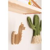 Pypa houten wandkapstok voor kinderen, miniatuur afbeelding 2