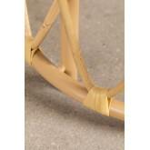 Ronde bijzettafel in rotan Zan , miniatuur afbeelding 6