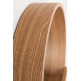 Ronde wandspiegel met houten plank van Vern, miniatuur afbeelding 5