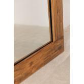 Spiegel van gerecycled hout (178,5x79 cm) Drev, miniatuur afbeelding 3