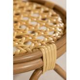 Ronde eettafel in synthetisch rotan (Ø75 cm) Siena, miniatuur afbeelding 5