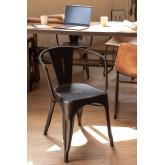LIX Vintage stoel met armleuningen, miniatuur afbeelding 1