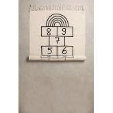 Rechthoekig katoenen vloerkleed (150x90 cm) Sambori, miniatuur afbeelding 1199015