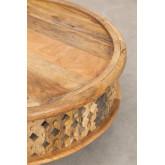 Riyad houten salontafel, miniatuur afbeelding 4