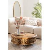 Riyad houten salontafel, miniatuur afbeelding 1