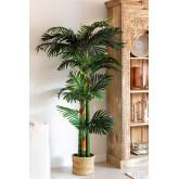 Decoratieve kunstplant palmboom, miniatuur afbeelding 1