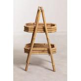 Stini bamboe plank met dienbladen, miniatuur afbeelding 4