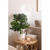 Monstera Decoratieve Kunstplant, miniatuur afbeelding 1