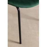 Fior Fluwelen eetkamerstoel, miniatuur afbeelding 5