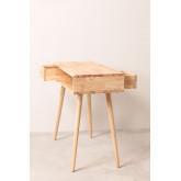 Arlan houten bureau , miniatuur afbeelding 4