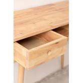 Arlan houten bureau , miniatuur afbeelding 5
