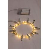 Decoratieve LED-slinger met clips (3,5 m) Inça, miniatuur afbeelding 2
