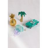 Set van 4 Tropik Kerst Ornamenten, miniatuur afbeelding 2