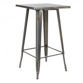 LIX hoge tafel geborsteld staal , miniatuur afbeelding 1