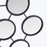 Metalen wandspiegel (55,8x83,5 cm) Favus, miniatuur afbeelding 2