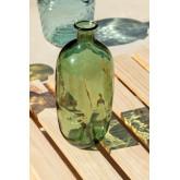 Lumas gerecyclede glazen fles, miniatuur afbeelding 1