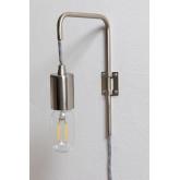 Alli metalen wandlamp, miniatuur afbeelding 2