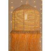 Plafondlamp in Raffia Yul, miniatuur afbeelding 4