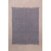Geruite deken van majestueus katoen, miniatuur afbeelding 2