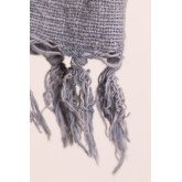 Geruite deken van majestueus katoen, miniatuur afbeelding 4