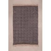 Geruite deken in Jopi katoen, miniatuur afbeelding 2
