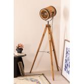 Statieflamp van bamboe, miniatuur afbeelding 1