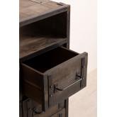 Warce houten ladekast, miniatuur afbeelding 4