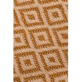 Katoen en jute vloerkleed (177x122 cm) Durat, miniatuur afbeelding 4