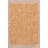 Katoen en jute vloerkleed (177x122 cm) Durat, miniatuur afbeelding 1