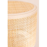 Siro rotan tafellamp, miniatuur afbeelding 6