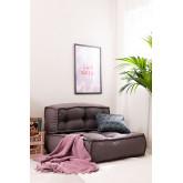 Lavani katoenen plaid deken, miniatuur afbeelding 5