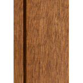 Kledingkast met 2 schuifdeuren in Uain-hout, miniatuur afbeelding 6